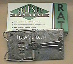 selfset metal rat trap